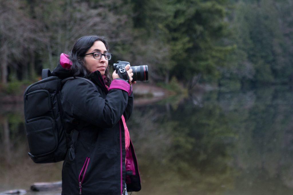 Tazim Damji Homesteading Survivalist. In Squamish, British Columbia.