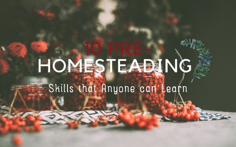 10 pre-homesteading skills that anyone can learn