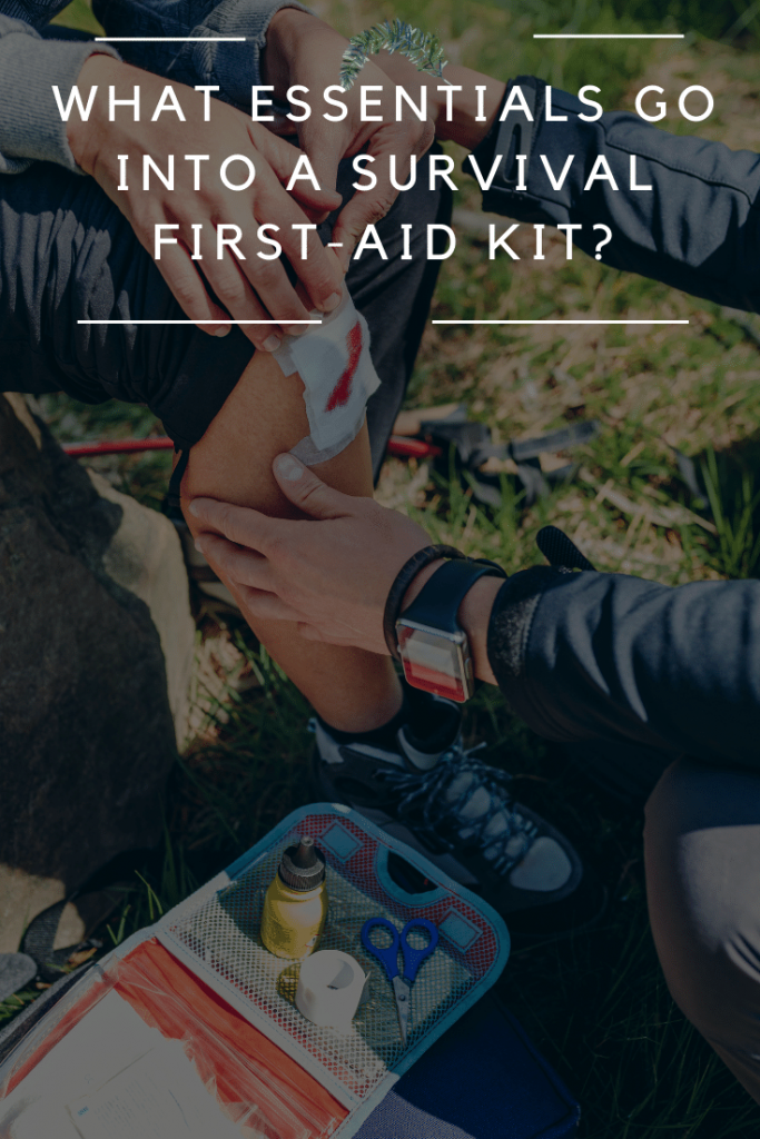essentials for a survival first-aid kit